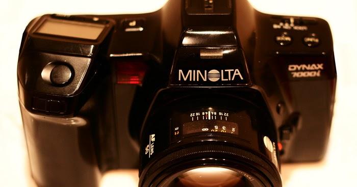 Pan S Film Cameras Minolta Dynax 7000i