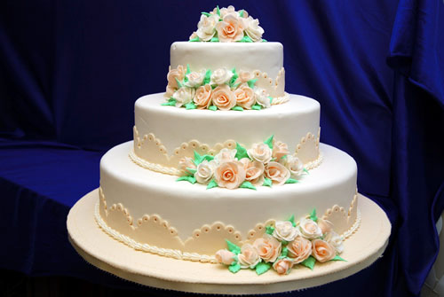 Cake Decoration Wedding : Wedding Cake For You