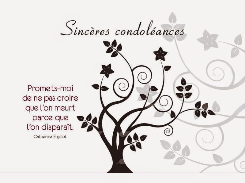 Exemple Message Condoléances ~ Message de condoléances   sms de