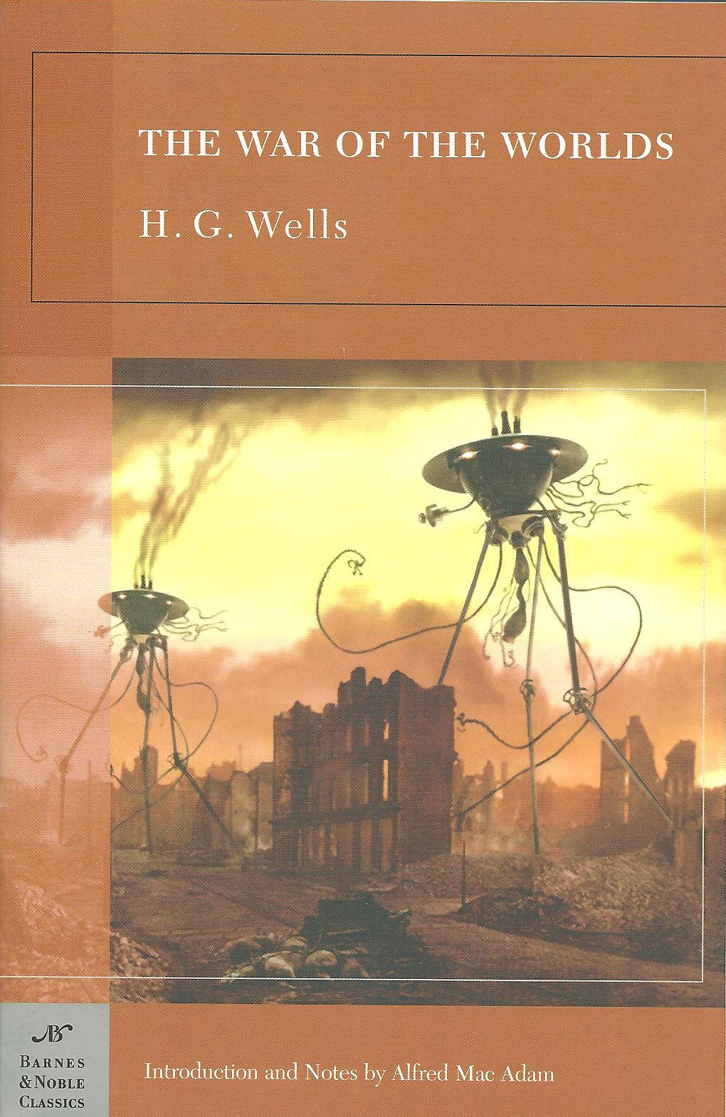 hg wells war of the worlds book report