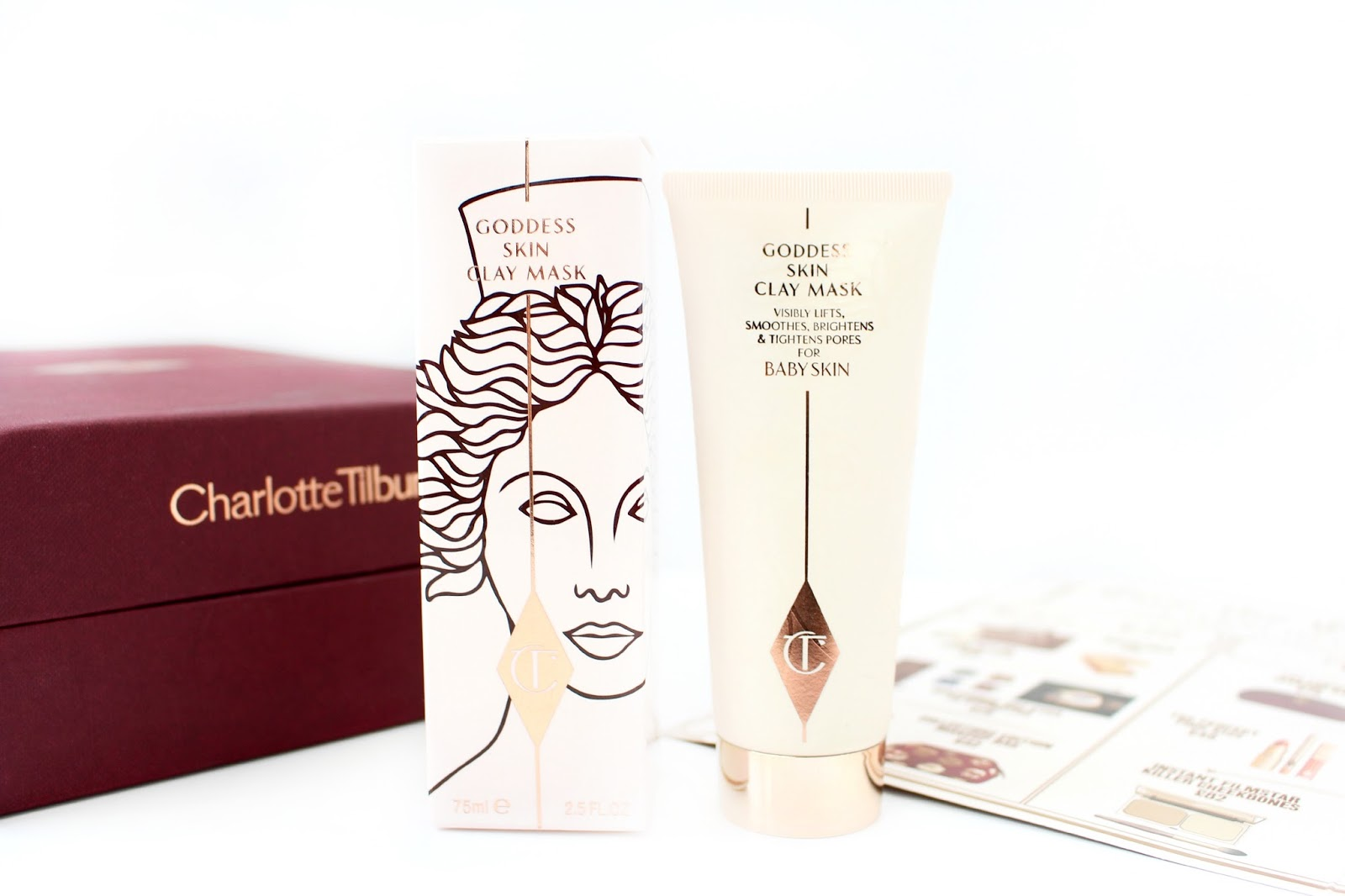 Charlotte Tilbury Goddess Skin Clay Mask Review