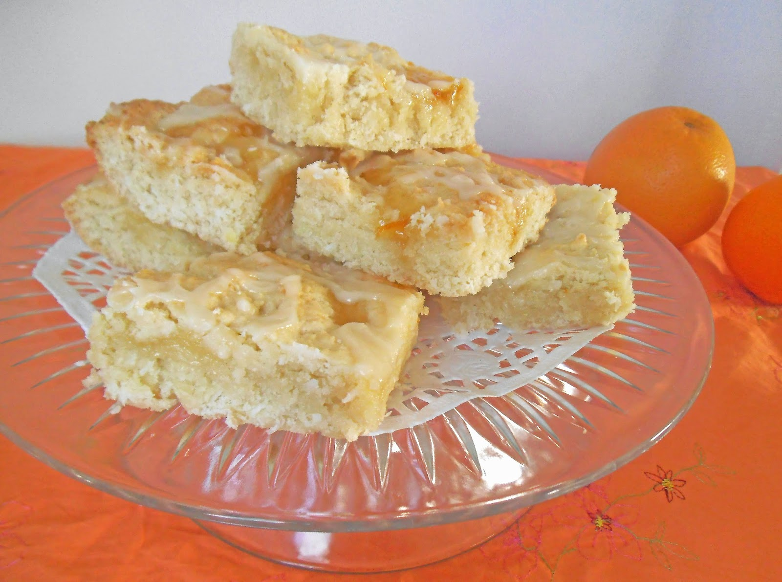 Recipe for Citrus Swirl Lemon Bars {from Swirls & Spice}