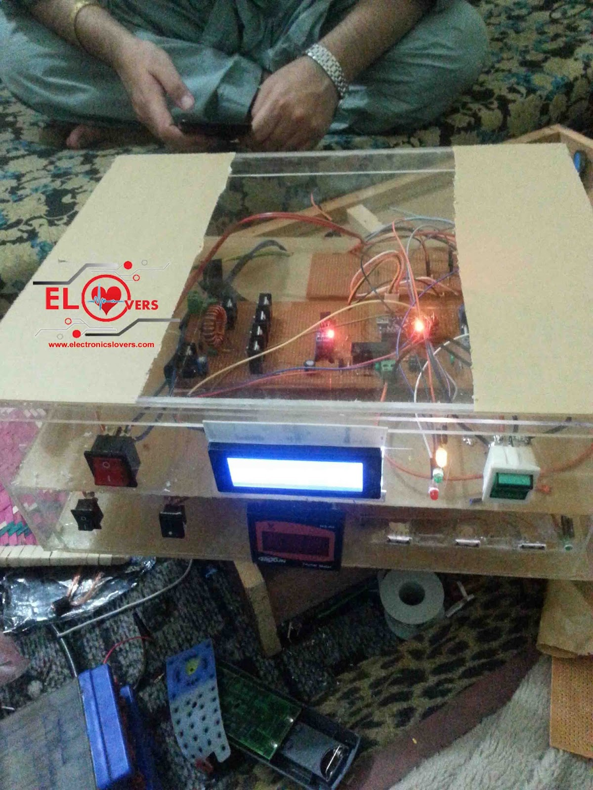Home Made Maximum Power Point Tracking Mppt Charge Controller Control Circuit Diagram On 12v Solar Algorithm For System