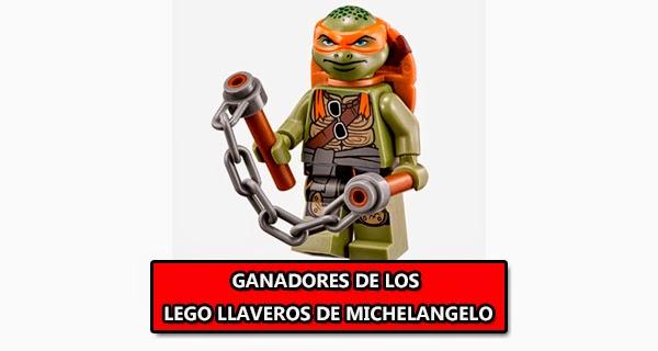 Ganadores del #LegoConcurso Tortugas Ninja
