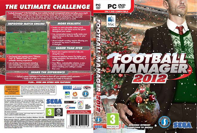 Football Manager gets festive