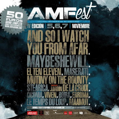 Cartel del AMFest 2015