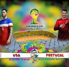 مشاهدة مباراة البرتغال وامريكا بث مباشر 23/6/2014 على قناة بين سبورت HD