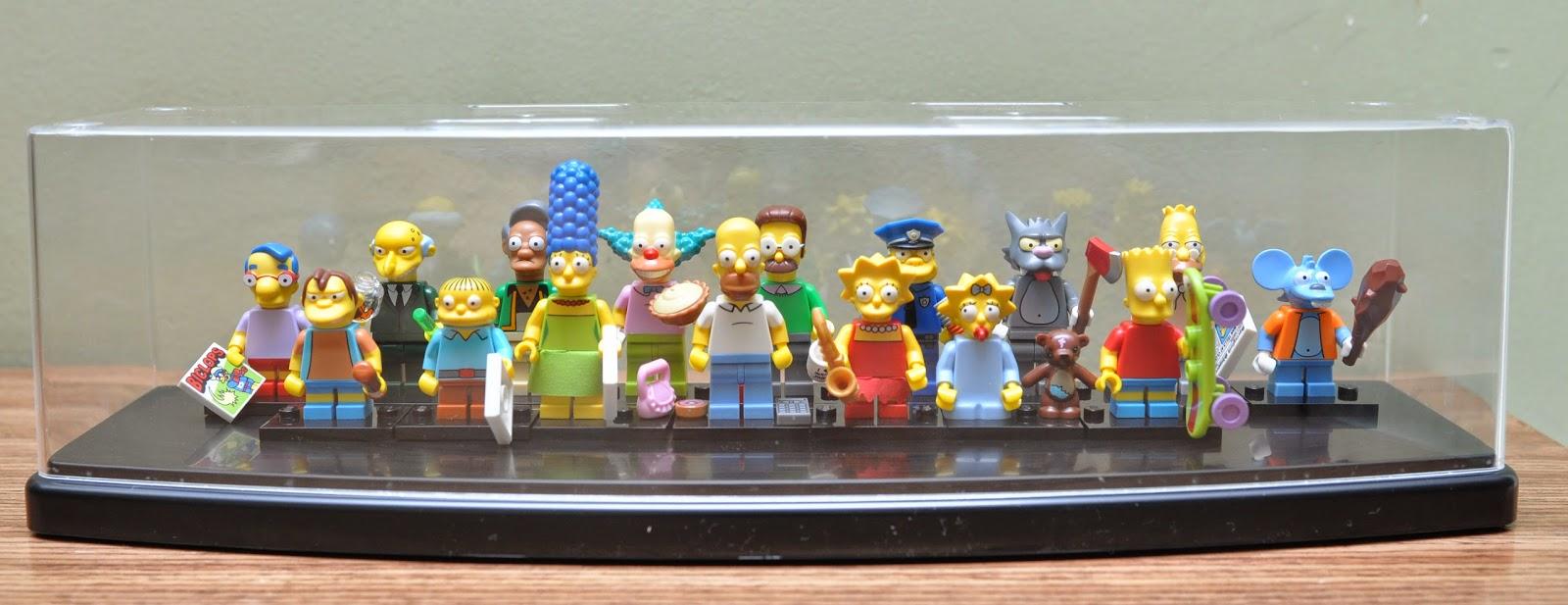 My Brick Store: How i display my Lego Simpsons Minifigure