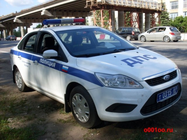 Photo The car of Russian police