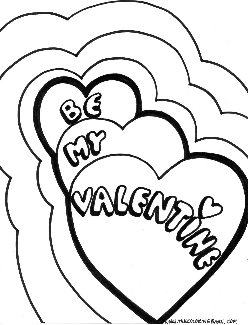 free coloring pages etyho be my valentines coloring pages