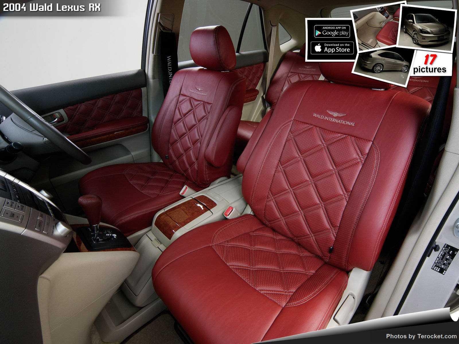 Hình ảnh xe độ Wald Lexus RX 2004 & nội ngoại thất