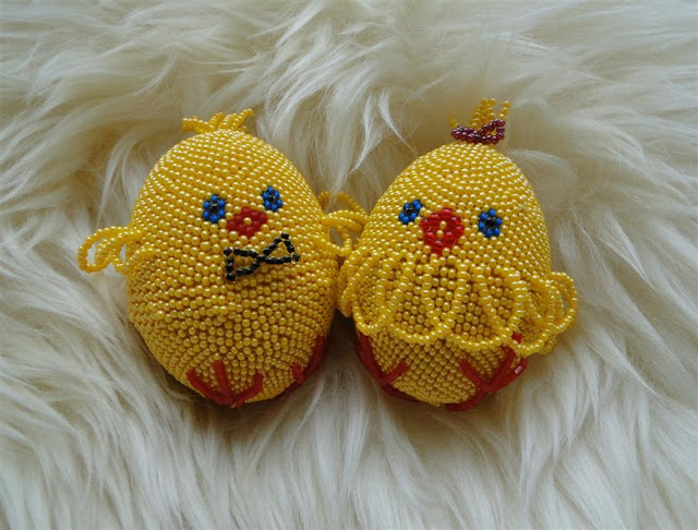 Baby Chicks Easter Eggs from western Ukraine