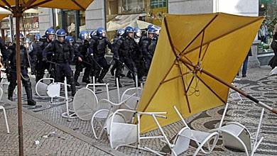 Portugal - Greve geral: MAI recebe segunda-feira relatório sobre incidentes no Chiado