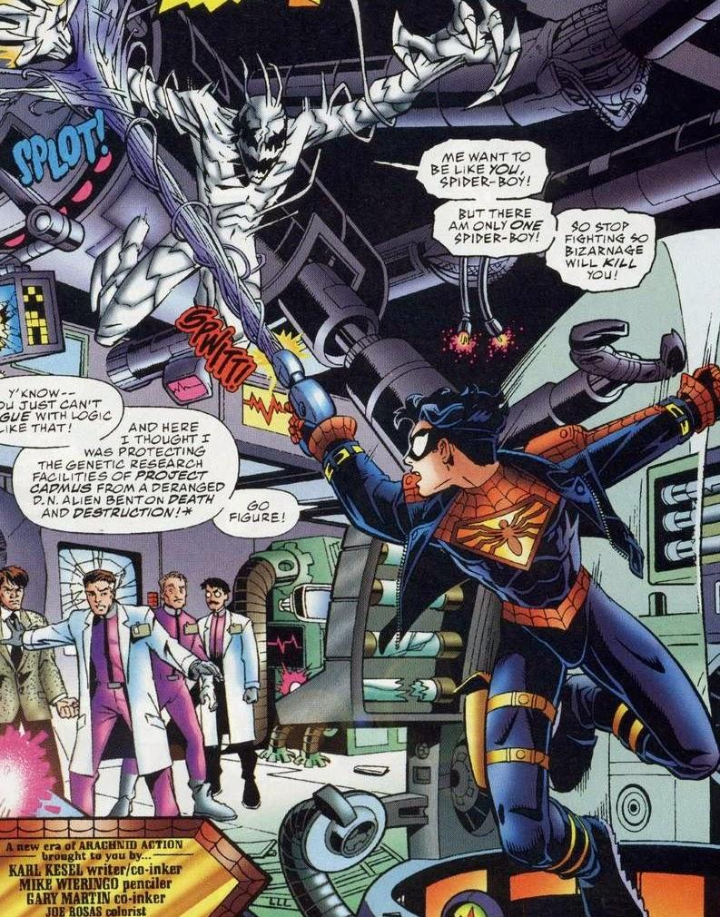 spiderman la lucha contra venom: