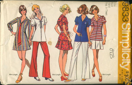 vestimenta de la decada de los 60:
