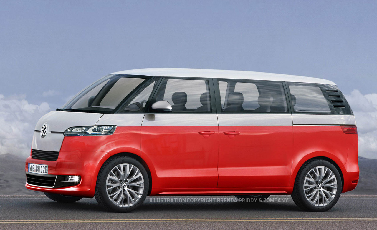 He's back, to be released 2014 Volkswagen Microbus - vw bus wagon