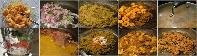Chettinad Prawn / Eral Masala with coconut
