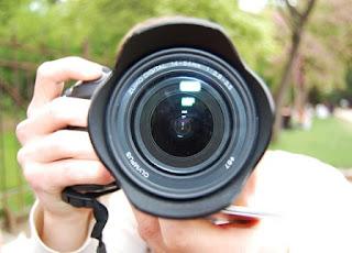 Fotografo pazzo per la fotografia