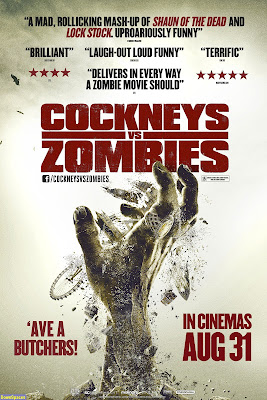 Filme Poster Cockneys vs Zombies DVDRip XviD & RMVB Legendado
