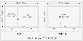 வீடு கட்ட சதுராடிக்கு எவ்வளவு ? Residential+Building-Model