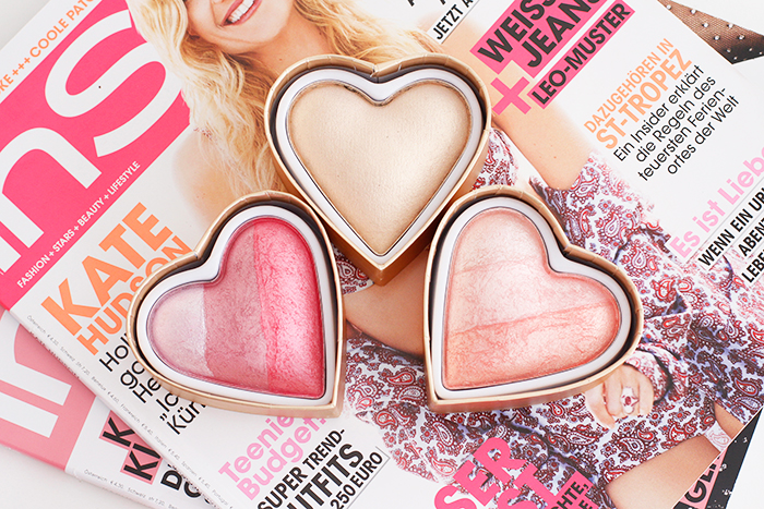 Spring Blushes: I Heart Makeup Triple Baked Blushing Hearts