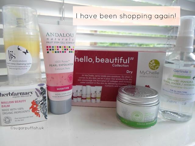 Haul Andalou Naturals LJ's Naturals PHB Ethical Beauty Gerlinde Naturals MyChelle Herbfarmacy