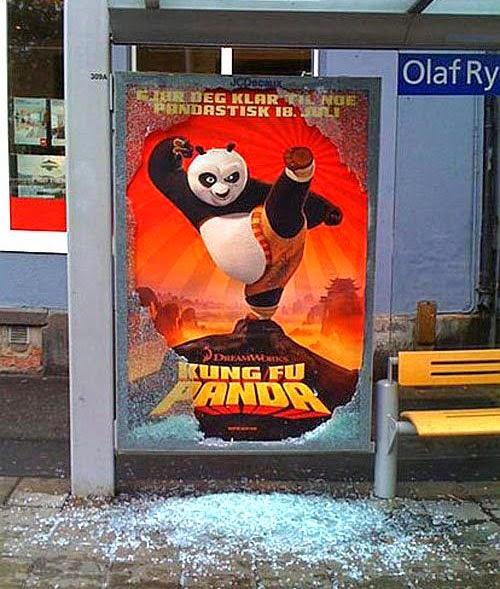 Kung Fu Panda Ad
