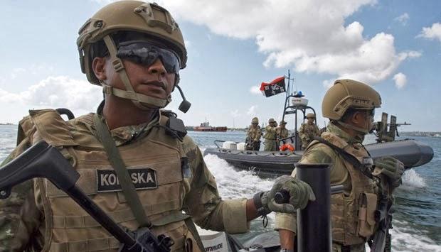 Pasukan Khusus Indonesia: Foto-foto Kopaska PAM APEC 2013