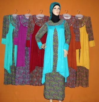 Grosir Baju Muslim Murah Tanah Abang Gamis Fitriyah