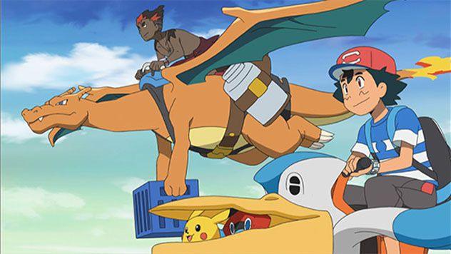 Capítulo 11 ¡Ash, Visita a Kiawe! Temporada Sol y Luna