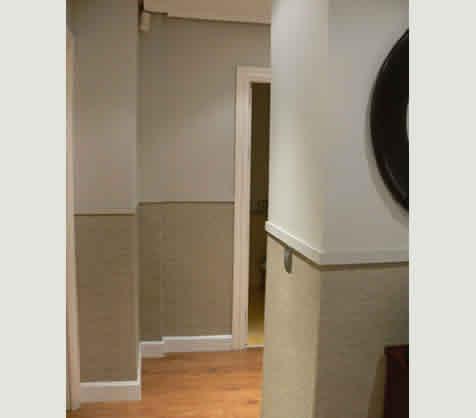 Pinturas y decoraci n 35 zocalo en entrada y pasillos - Cenefas para pasillos ...