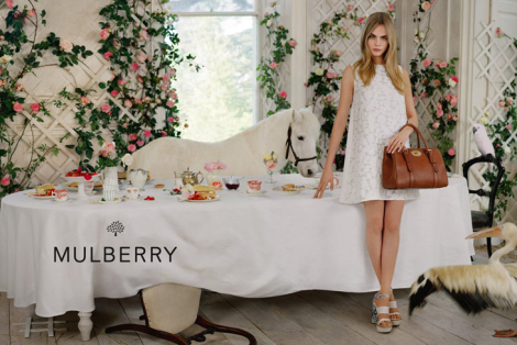 Cara Delevingne for Mulberry SS14 Campaign by Tim Walker