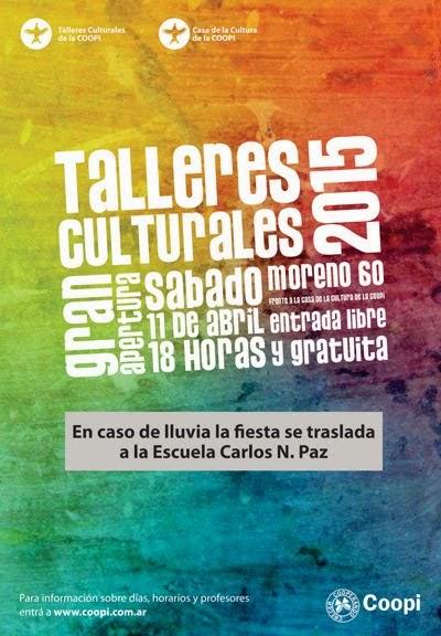 Nueva edición de  los Talleres Culturales de la Coopi VCP