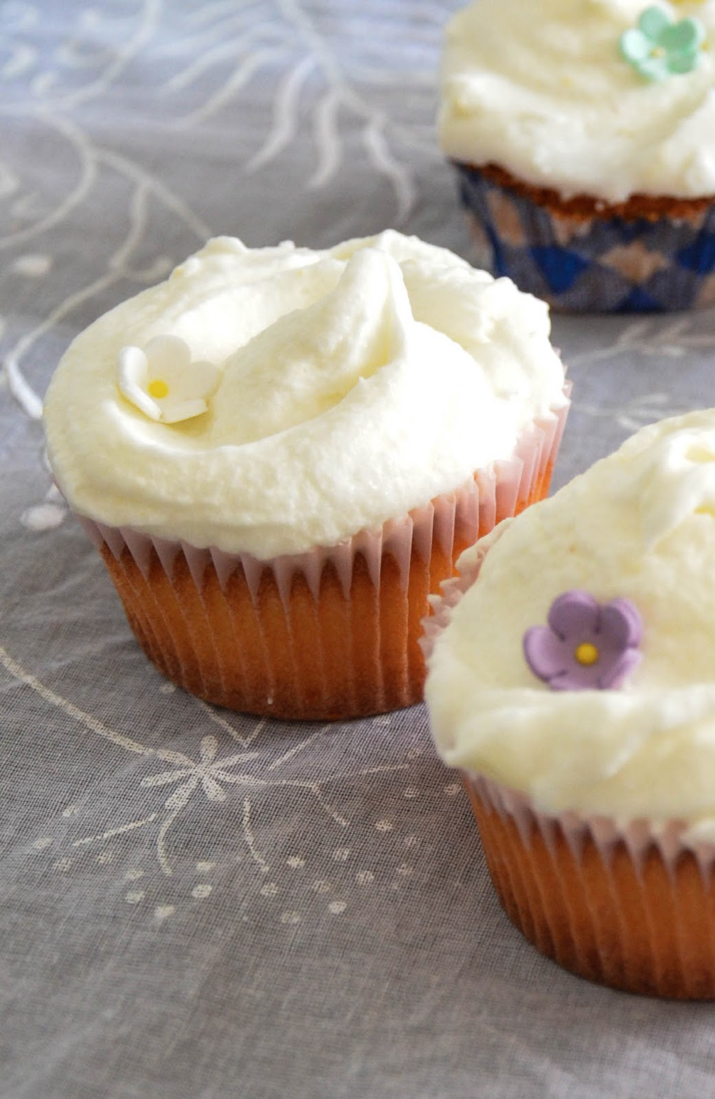 cupcakes al limone (versione magnolia bakery)