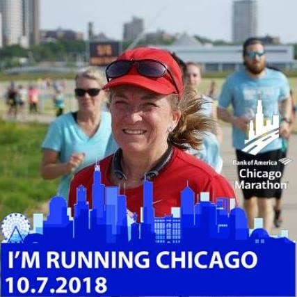 I'm running the 2018 Chicago Marathon to benefit Misericordia. Find out why here!