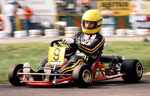 Ayrton Senna Fotos Senna Kart