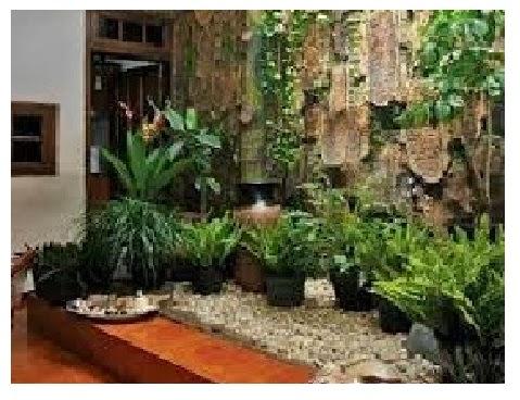 ... Depan Rumah Minimalis Dengan Taman Mungil - Koleksi Gambar dan Photo