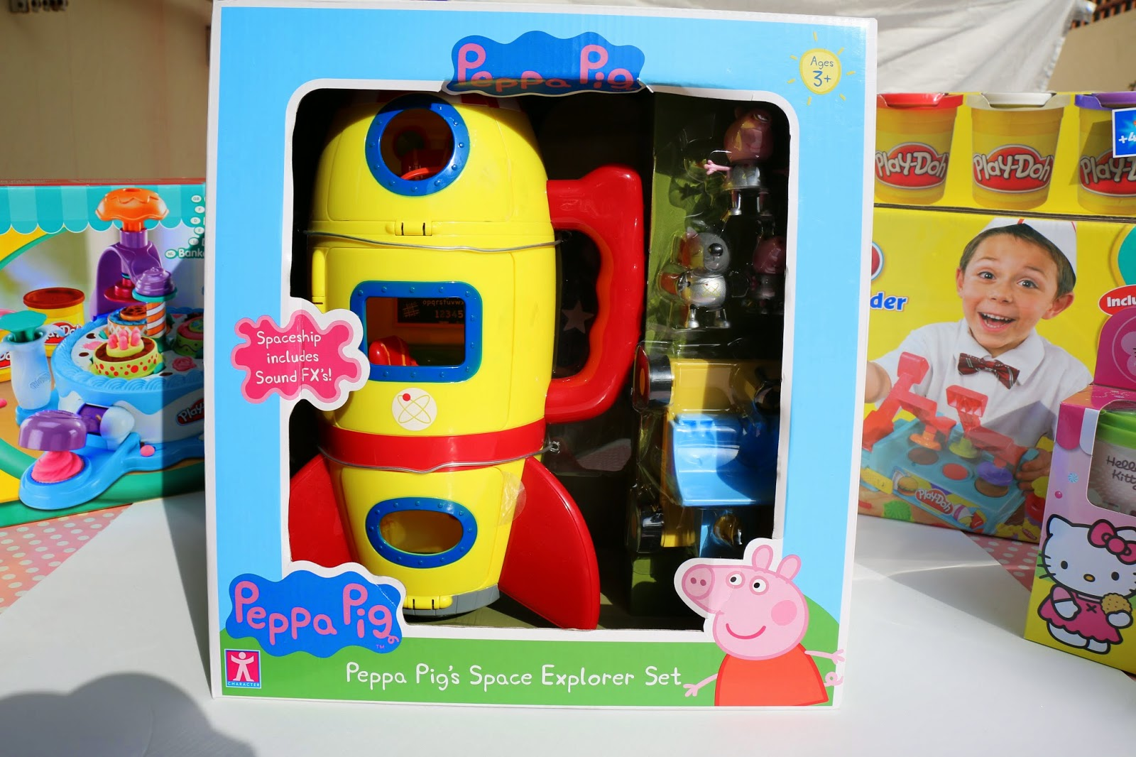 Bimbi toys show for Missile peppa pig