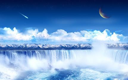 pemandangan dunia fantasi