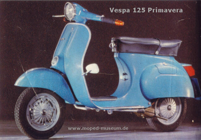vespa 125 primavera 1967 vespa scooters. Black Bedroom Furniture Sets. Home Design Ideas