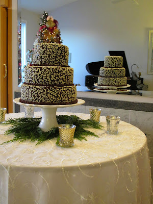 Gluten-Free Chocolate Wedding Cake!