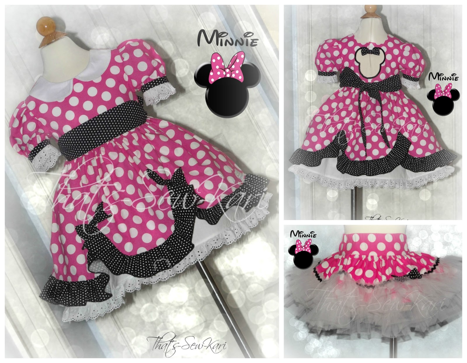 making minnie mouse candy castle princess dress by candy castle