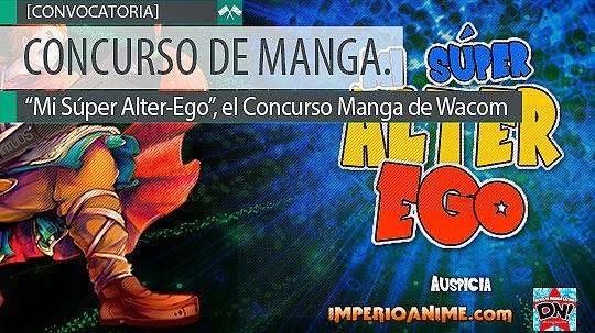 """Concurso de Manga. """"Mi Súper Alter-Ego"""""""