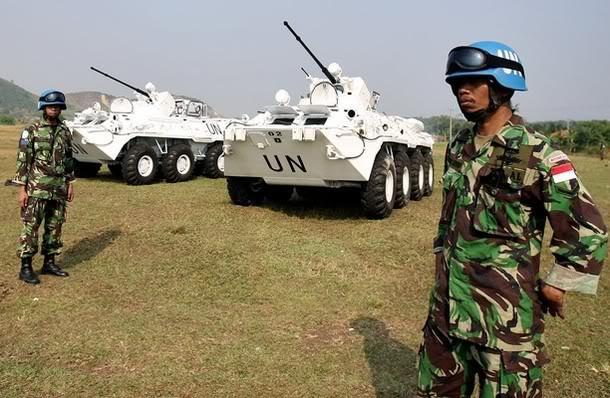 PBB Perluas Wilayah Operasi TNI