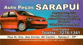 Auto Peças SARAPUÍ Peças para Autos, Caminhões, Tratores, Motocicletas, Parafusos, Eletrodos e Lubr