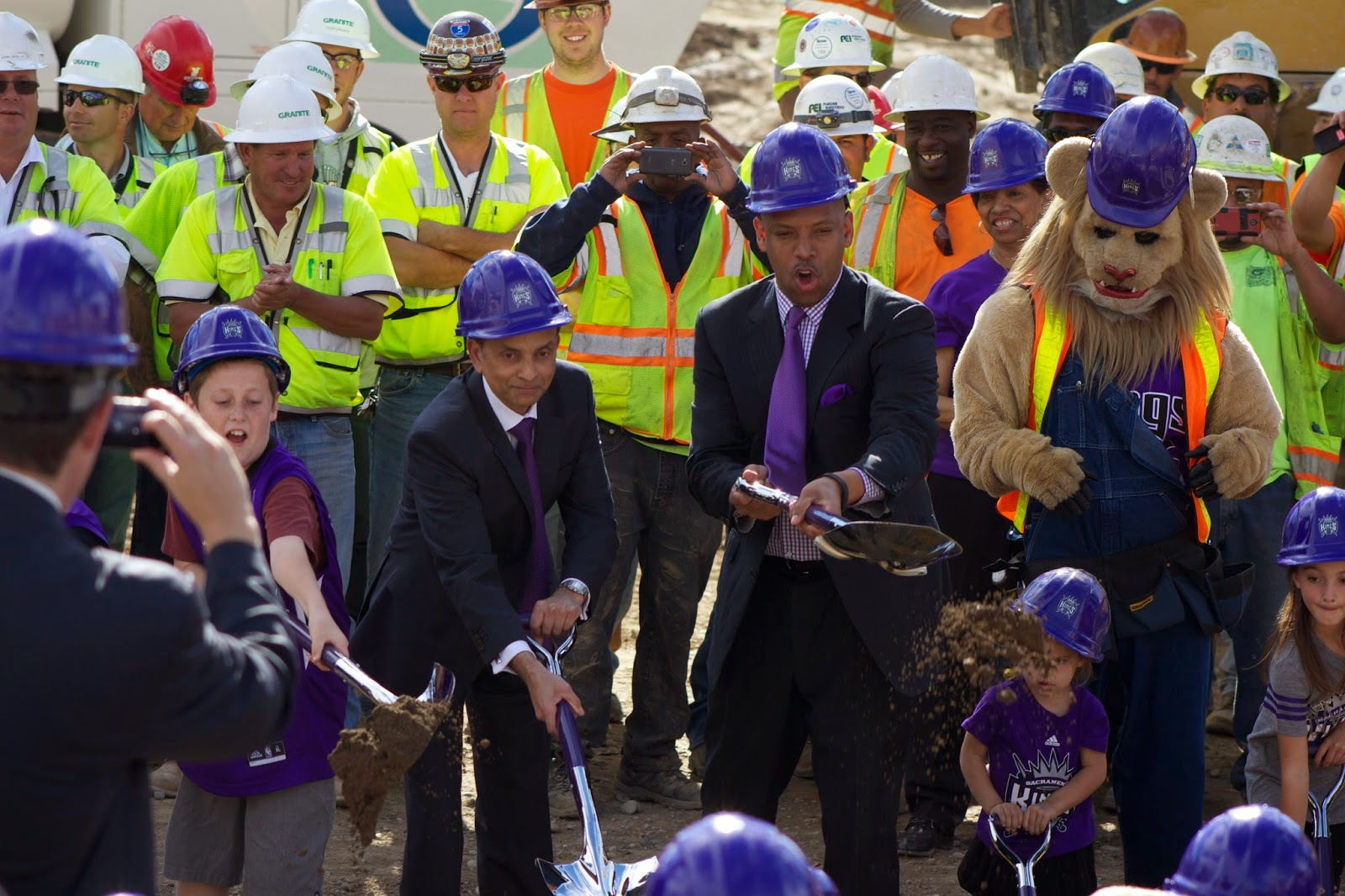 The impossible becomes reality: new Kings arena breaks ground