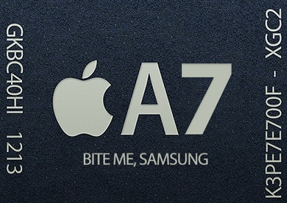 Intel may get 10% of Apple's A7 Chip Orders!