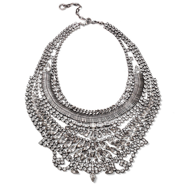 dylanlex, statement necklace, diamonds, chandelier necklace