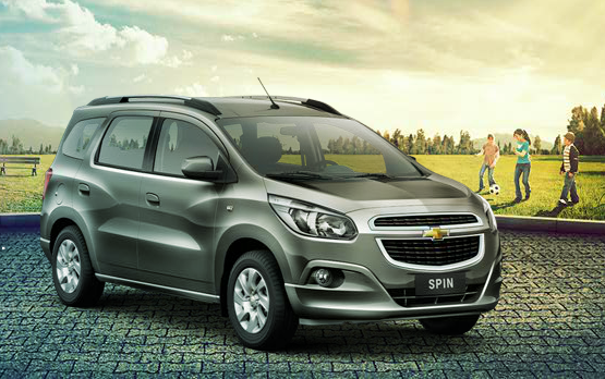Chevrolet Spin Details For Brazil Priced At Inr 121 Lakh Video