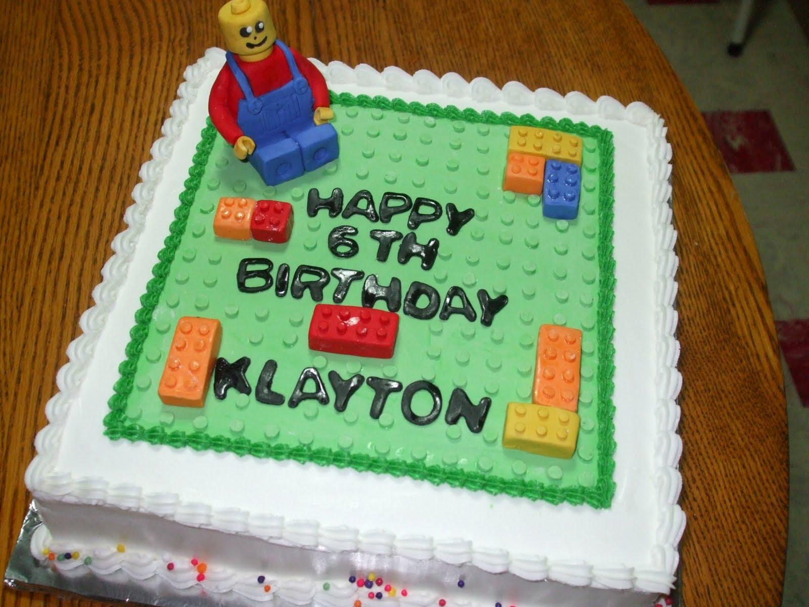 Cakes by Paula: Lego Birthday Party